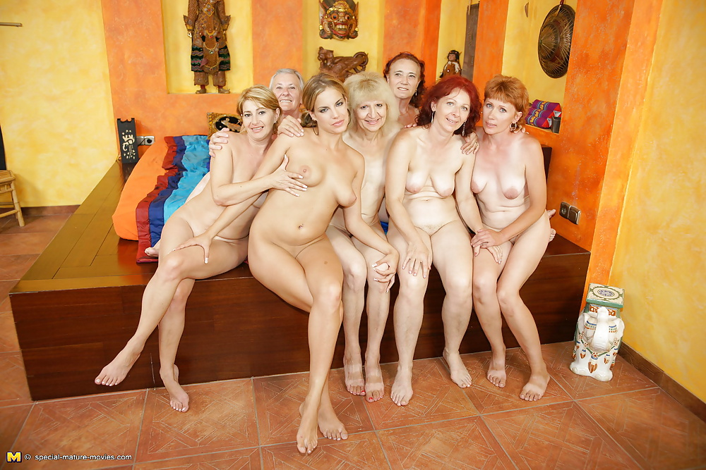 Granny Young Orgy