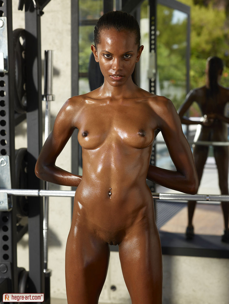 Black girl working out nude Join Sweaty Naked Black Girls