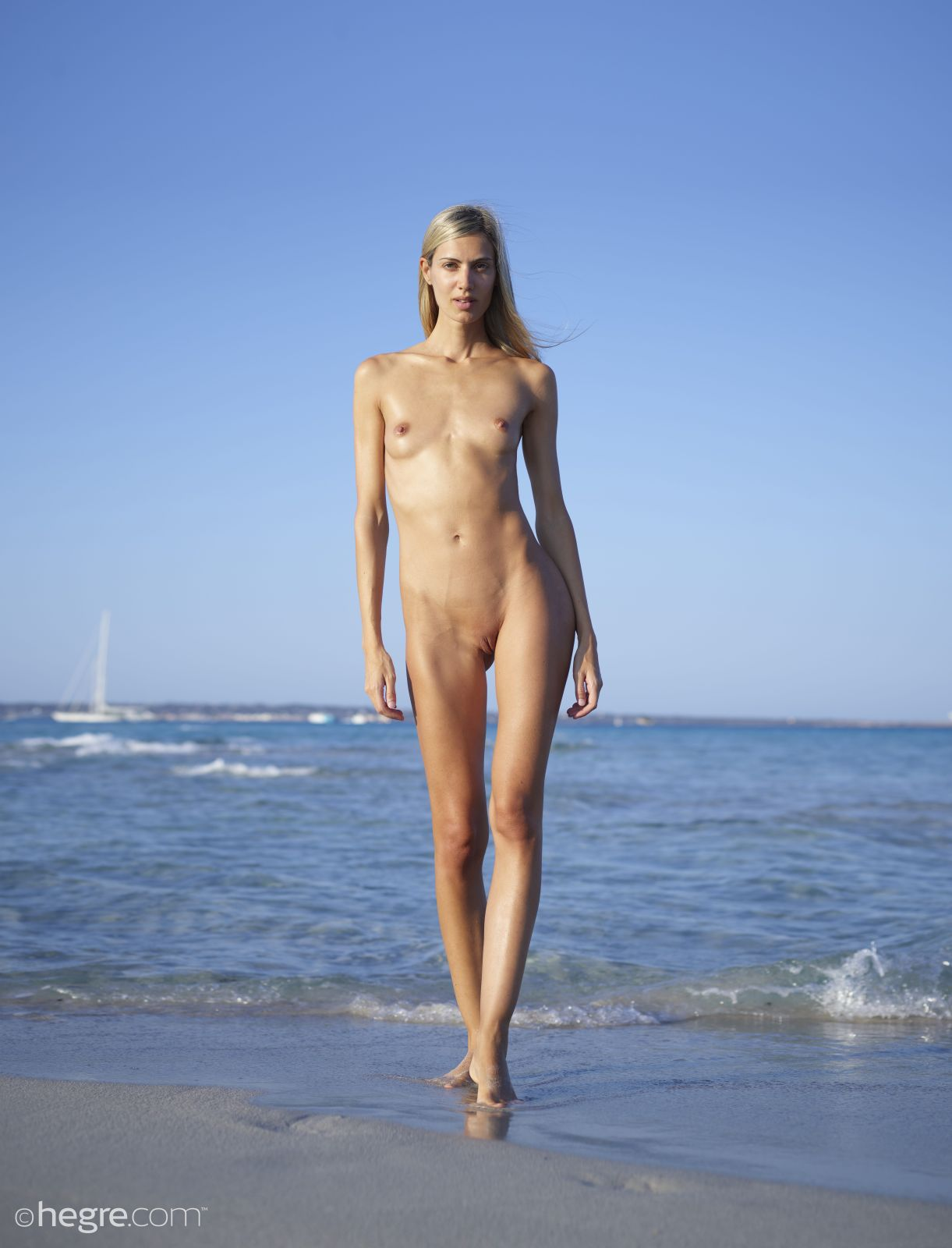 Tall Blonde Naked